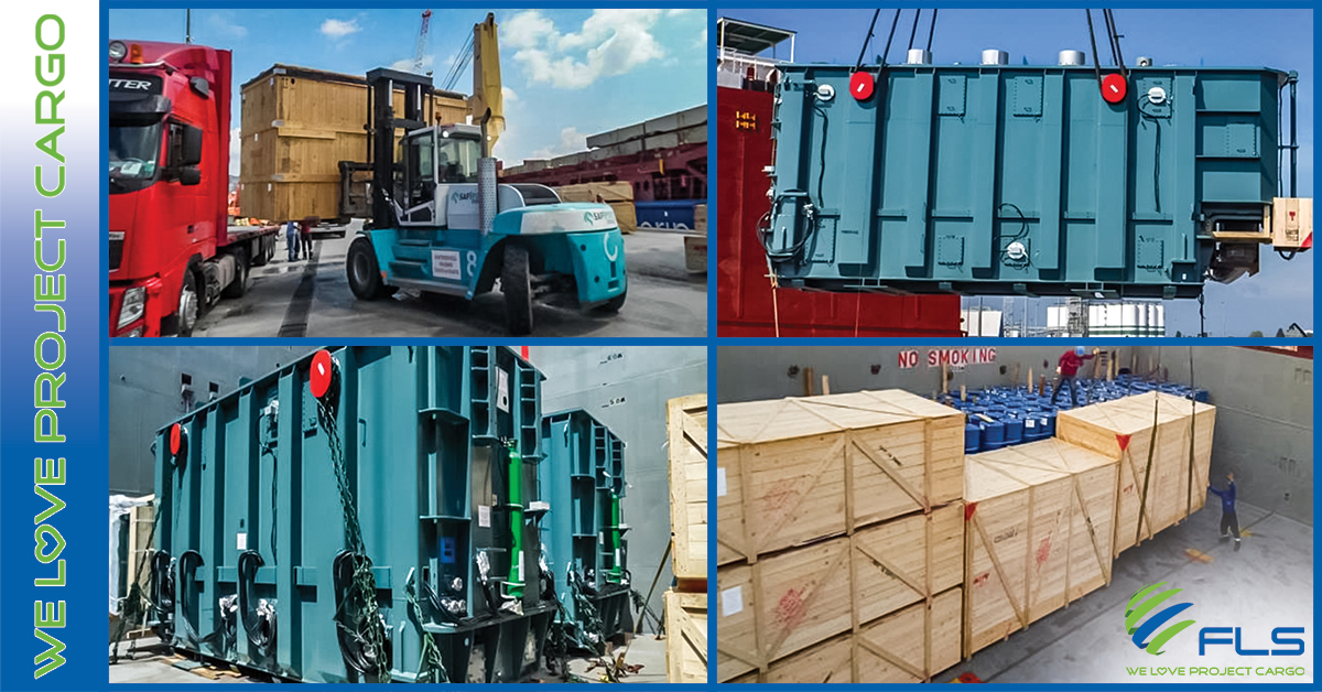 URGENT SHIPPING OF 2 TRANSFORMERS FROM TURKEY TO TAIWAN