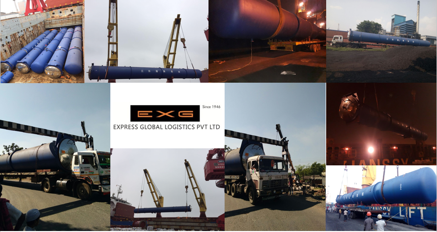 Express Global Logistics (EXG) successfully completed FOB shipment at Kolkata port along with transportation.