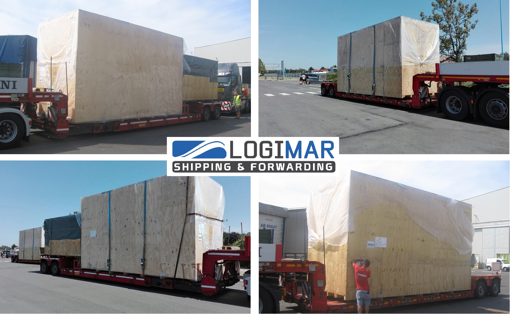 Logimar handles shipment from Italy to Indonesia