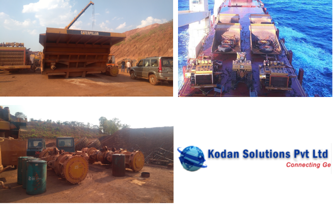 Kodan Solutions successfully exports a used mining machinery
