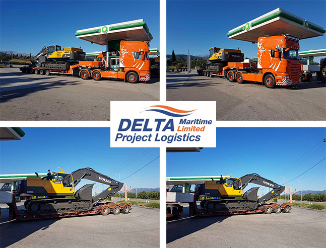 Delta Maritime delivers 2 Volvo to Montenegro