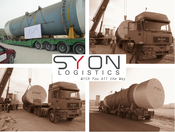 SYON Logistics working on a 2- years project