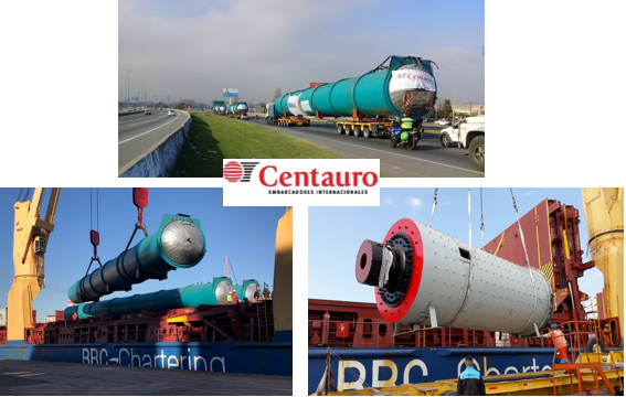 Centauro handled Transport for Project Cargo of oversized equipment for the industrial sector in Argentina