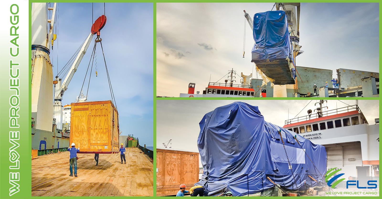 FLS Projects shipped Power Plant Equipment