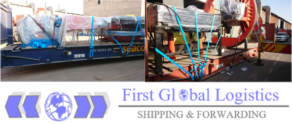 First Global Logistics has moved Oil & Gas Units & Accessories