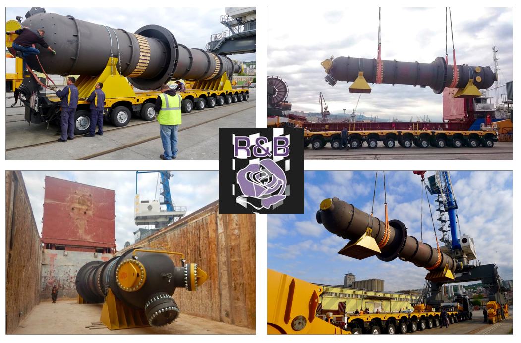 R&B Global Projects handled a 96-ton heat exchanger