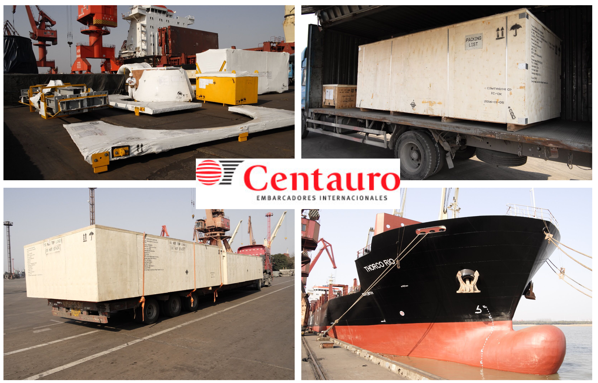 Centauro handles Project from China to Argentina