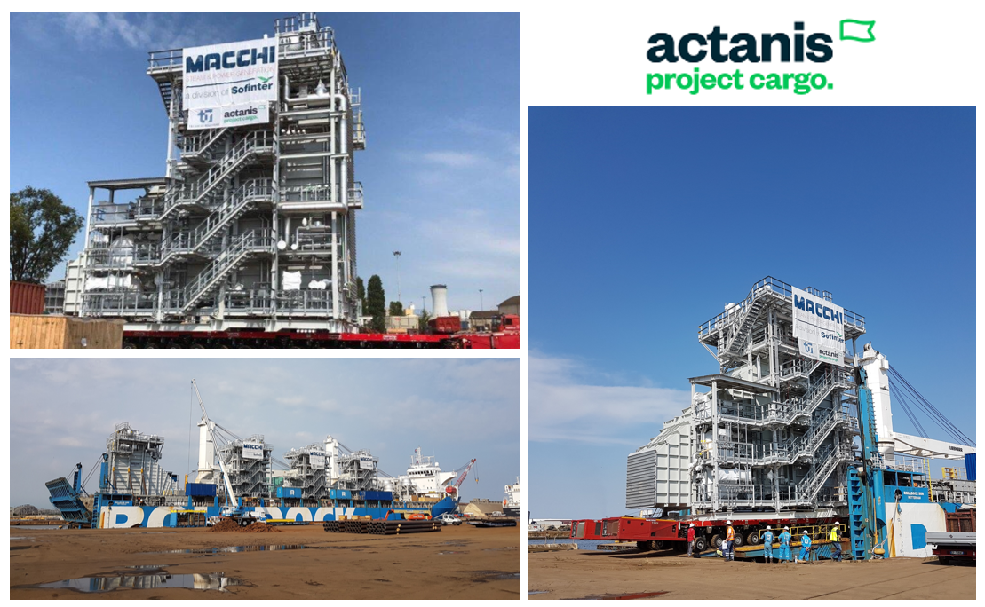 Actanis handles 4 super modules for the Kuwait GT5 refinery