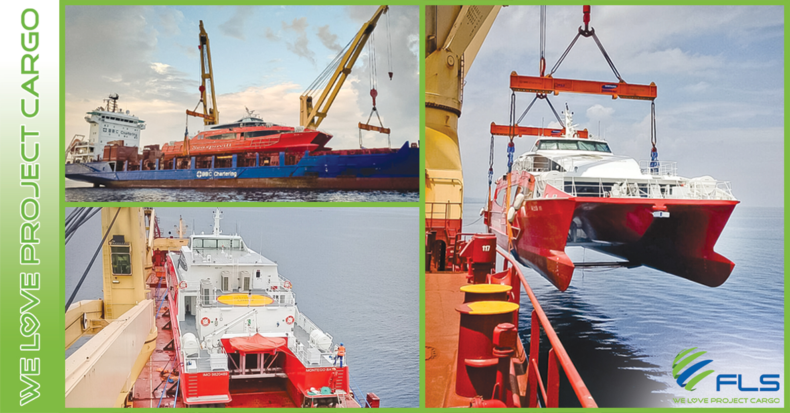 FLS Projects Vietnam - Worldwide Ship Delivery Professionals and Crew Boat Shipping Specialists!