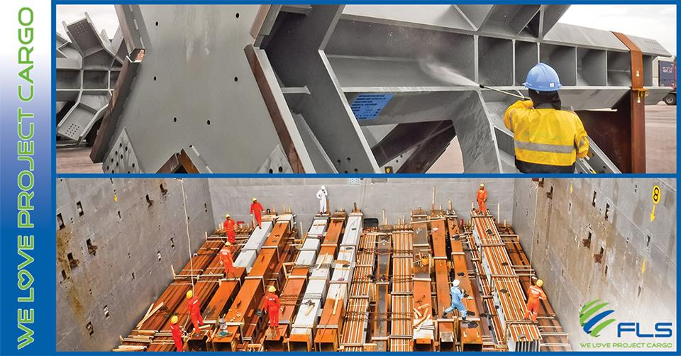 FLS Projects Thailand shipping more structural steel to New Zealand for construction at Commercial Bay Tower and NZICC!