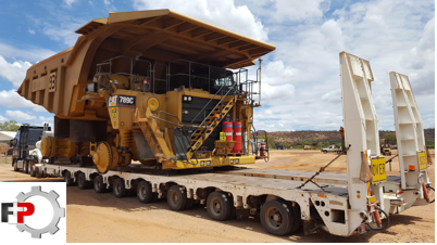 FreightPlus moved 120-tonne mining trucks!