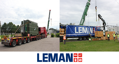 LEMAN delivers 85 T Transformer and spareparts to Energinet
