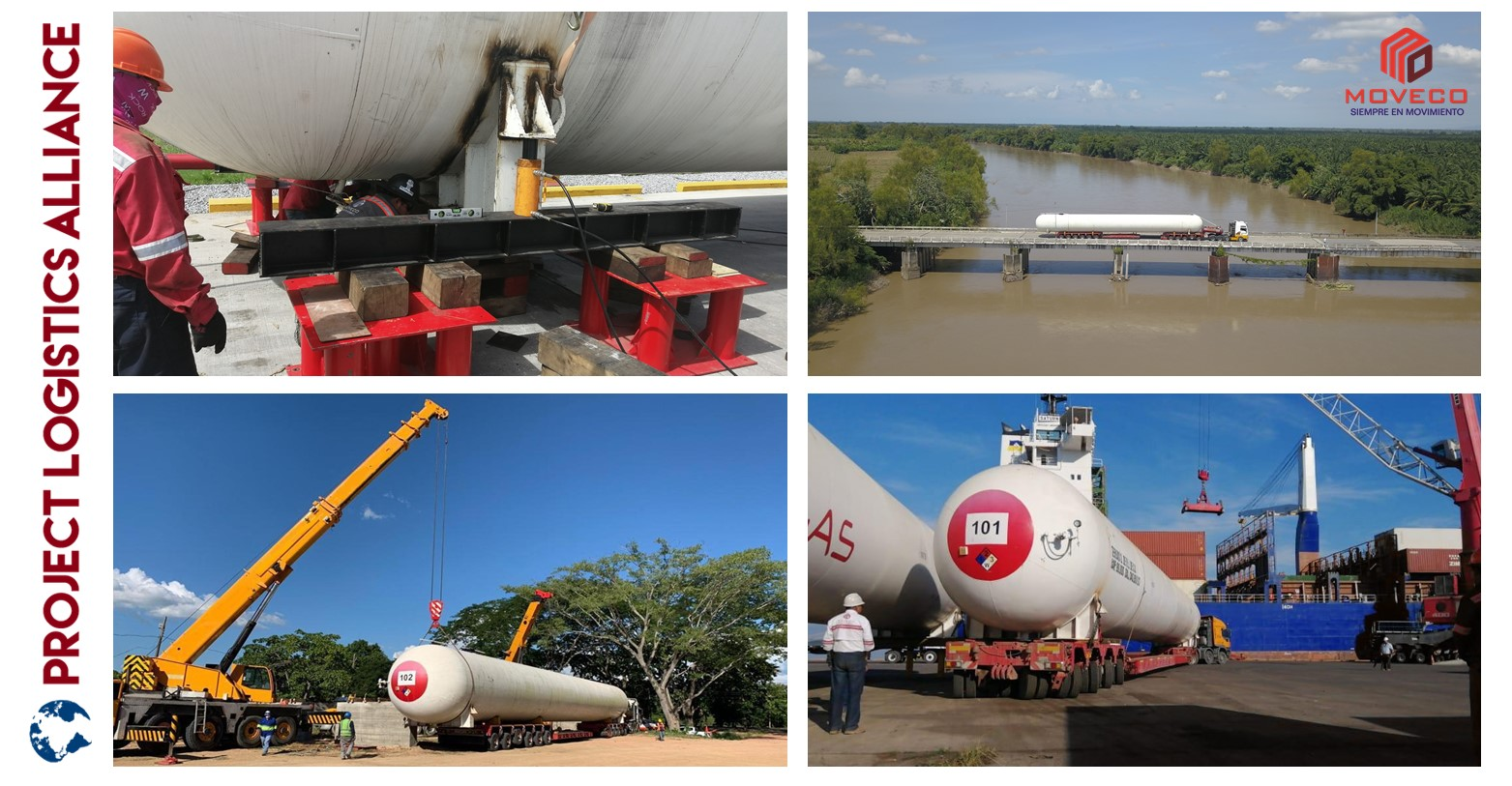 Moveco Delivers Storage Tanks From Guatemala To Honduras