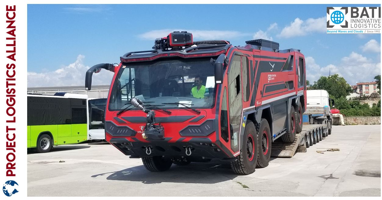 Bati Ships Fire Fighting Vehicles To The Maldives