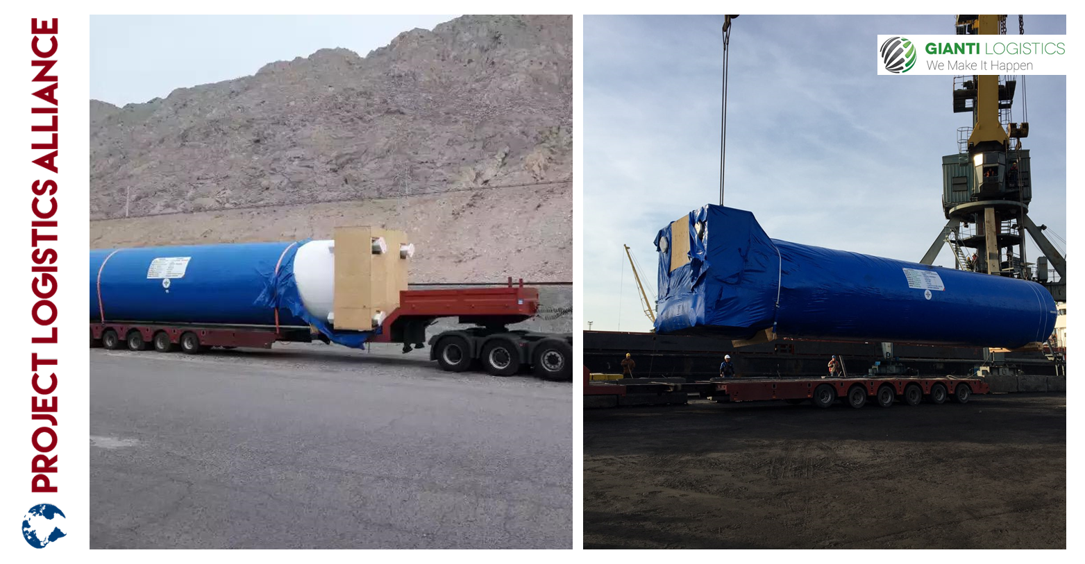 Gianti Logistics Delivers Equipment For Fertilizer Plant In Turkmenistan