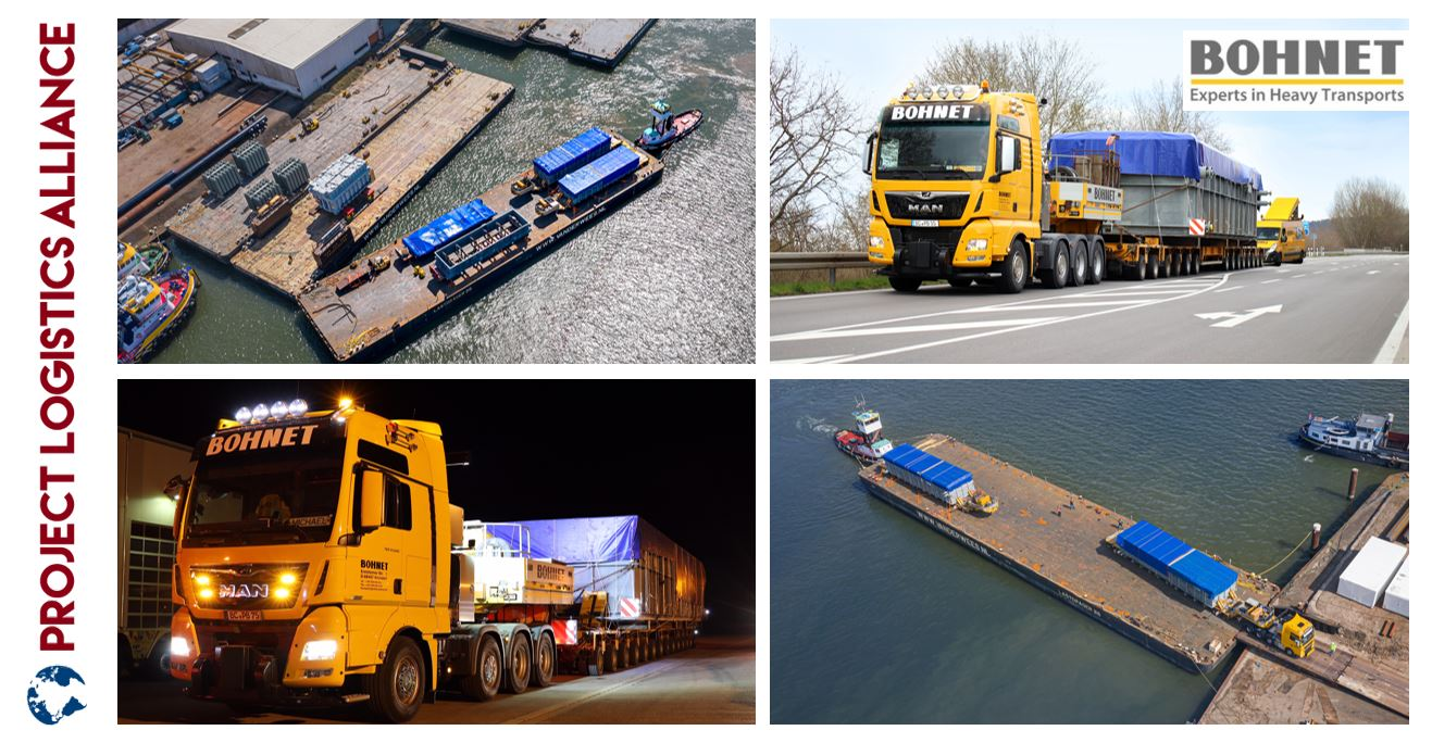 Bohnet Transports Heavy Boiler Modules Via Ro-Ro Pontoons To Great Britain