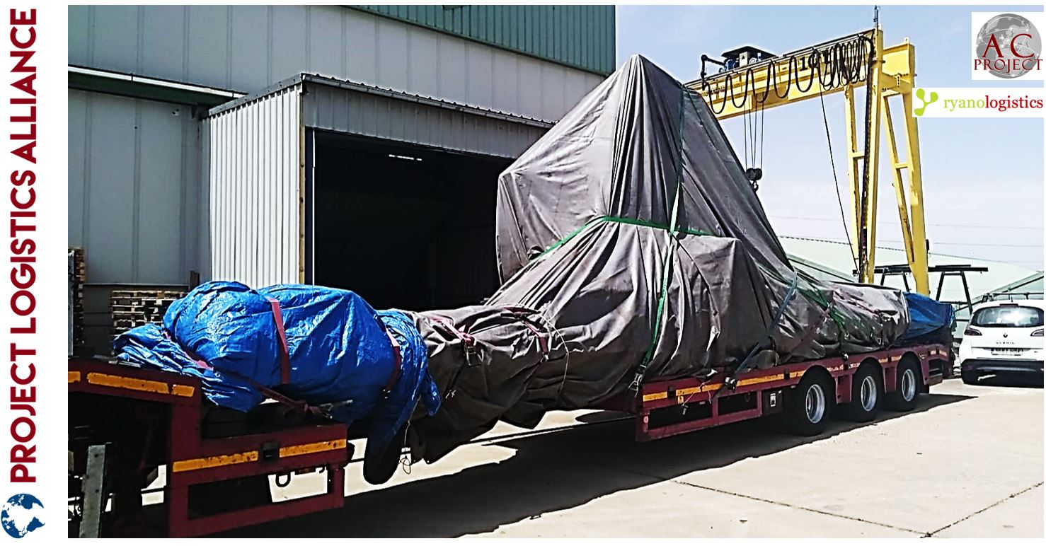AC Projects & Forwarding Moves Milling Machine With Ryano Logistics