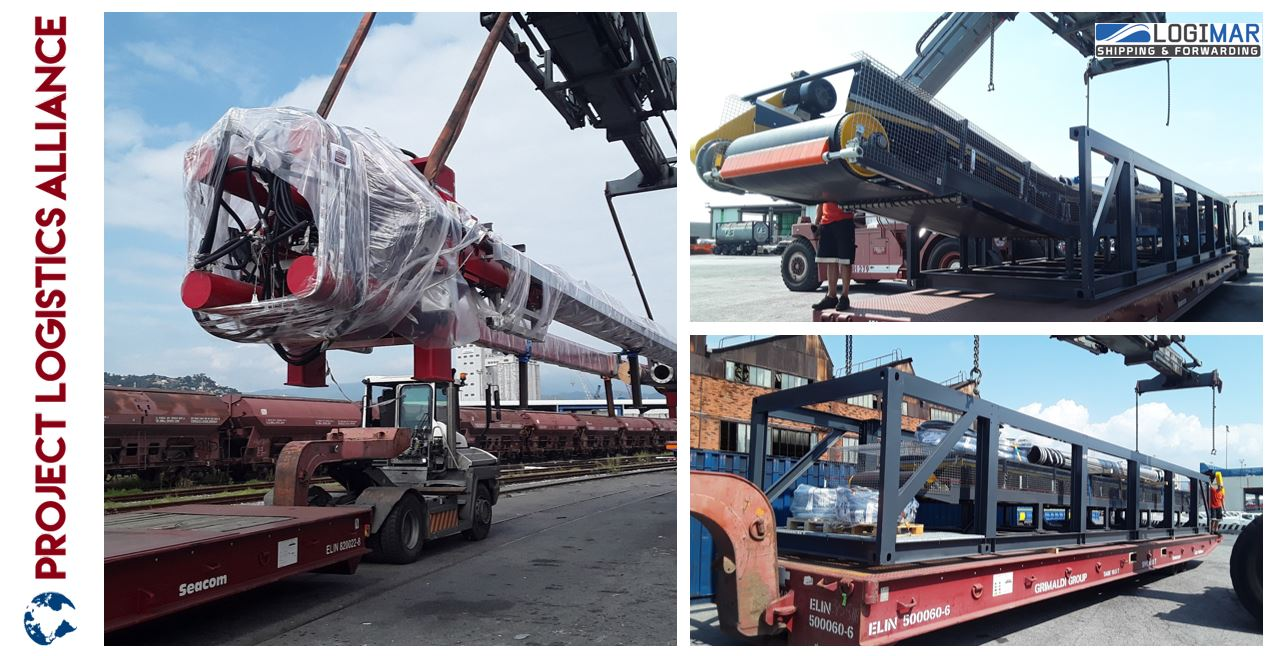 Logimar Delivers Mining Equipment DAP from Italy to USA