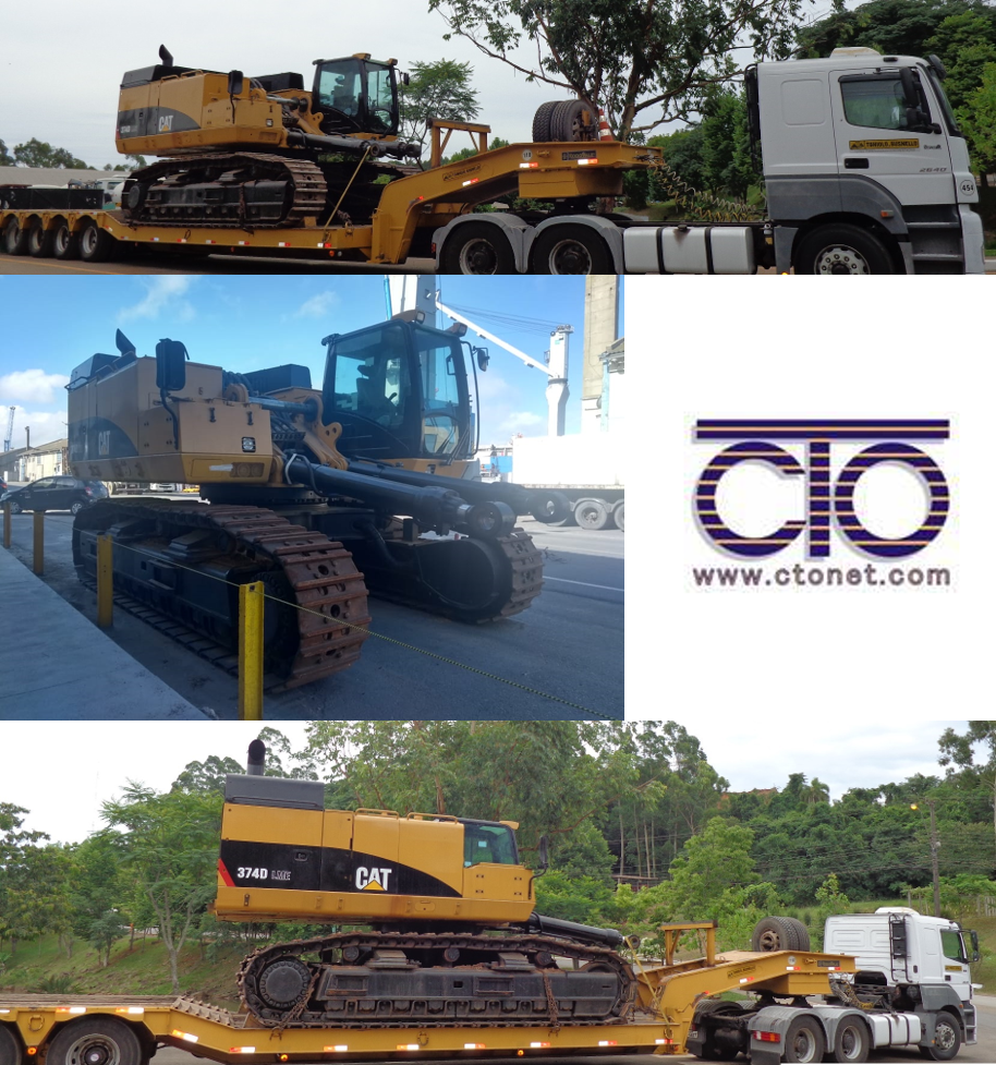 CTO DO BRASIL Transports CAT Excavator
