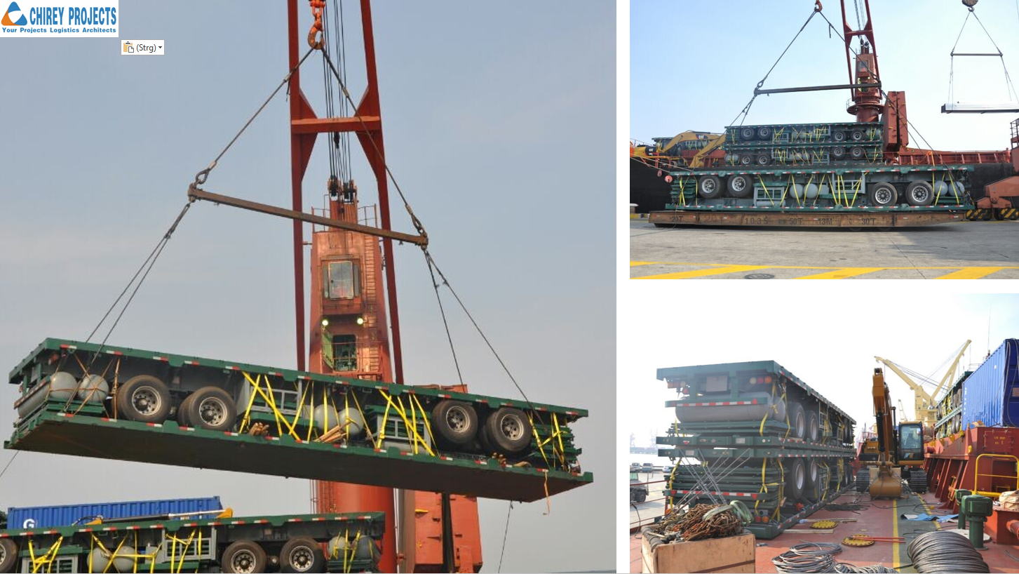Chirey Global Logistics Completes Vehicle Transport from China to Djibouti