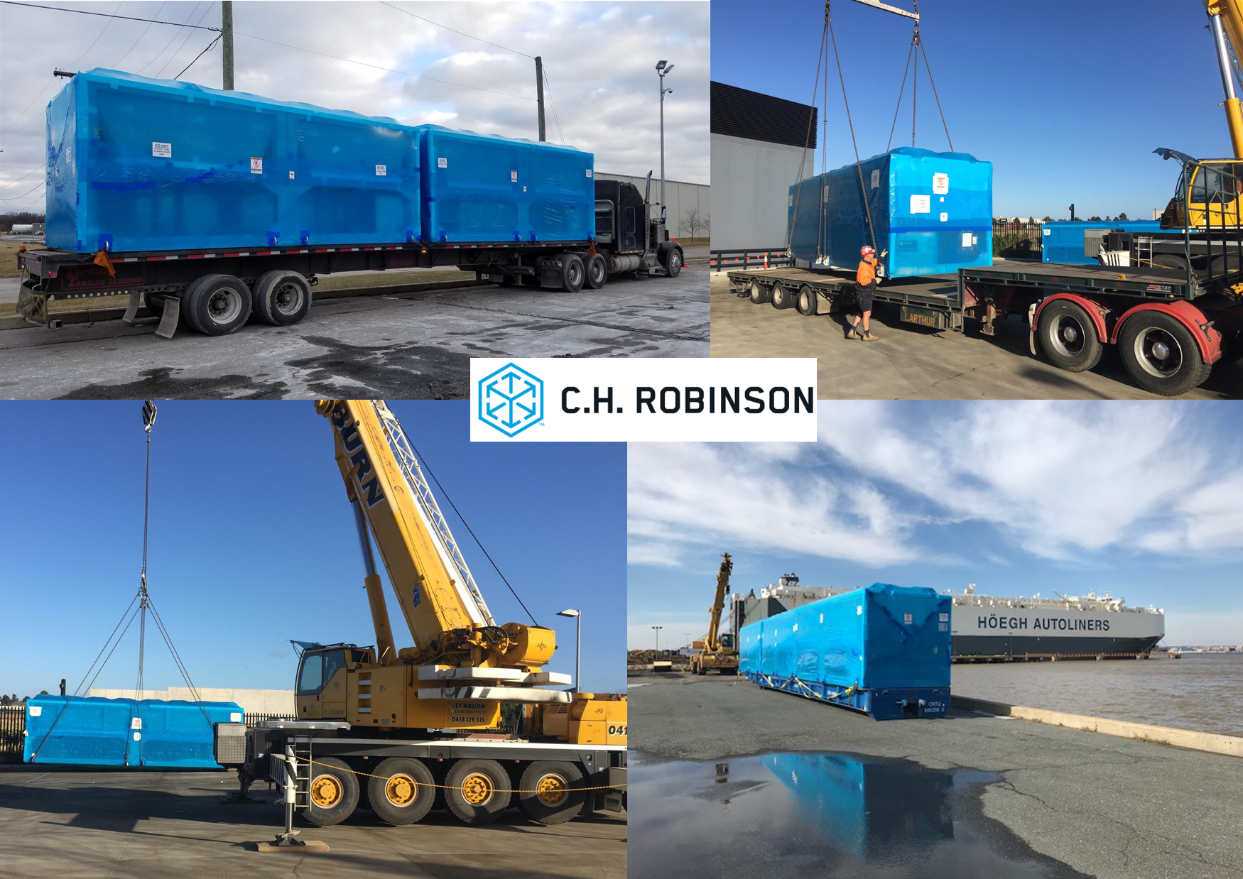 Multiple Cross-Continent Shipments Required Careful Coordination Among C.H. Robinson's Global Offices