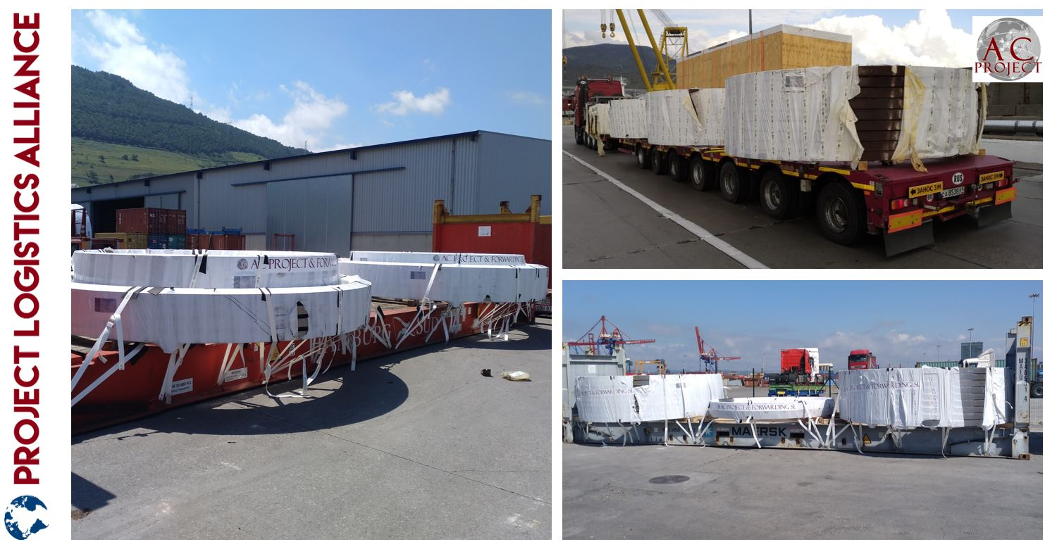 AC Projects & Forwarding Transports Flanges For Vestas