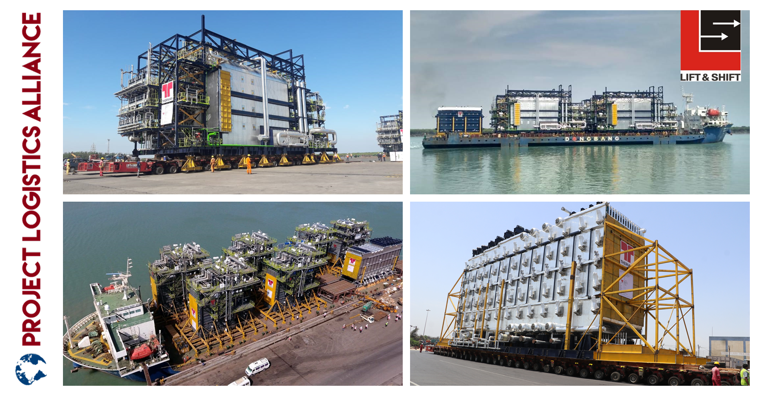 Lift & Shift (LSPL) Delivers Biggest, Heaviest Boiler & HRSG Modules For The Largest Refinery In Nigeria