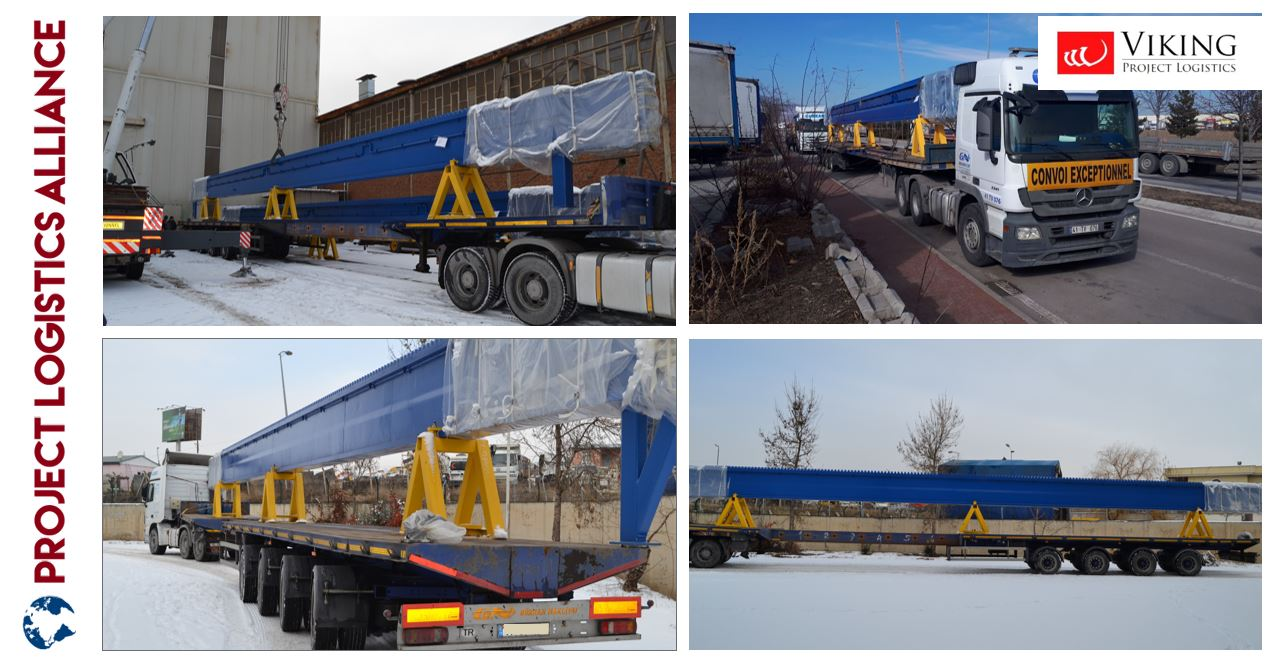 Viking Project Logistics Brings Different Overdimensional Components to Russia