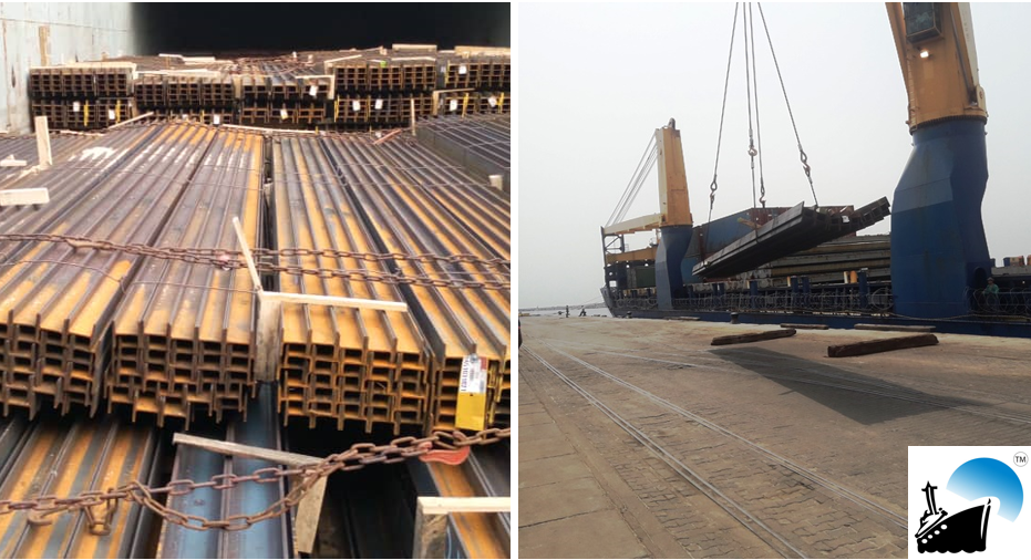Atlas de Cargo Completes Door Delivery of Flange Beams to Togo