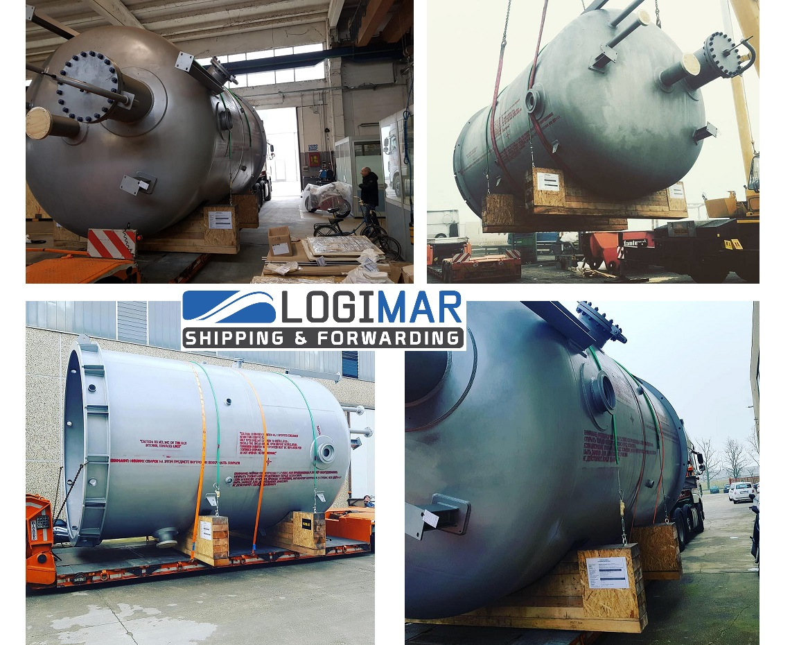 Logimar Moves Side Stream Filters From Italy To Uzbekistan