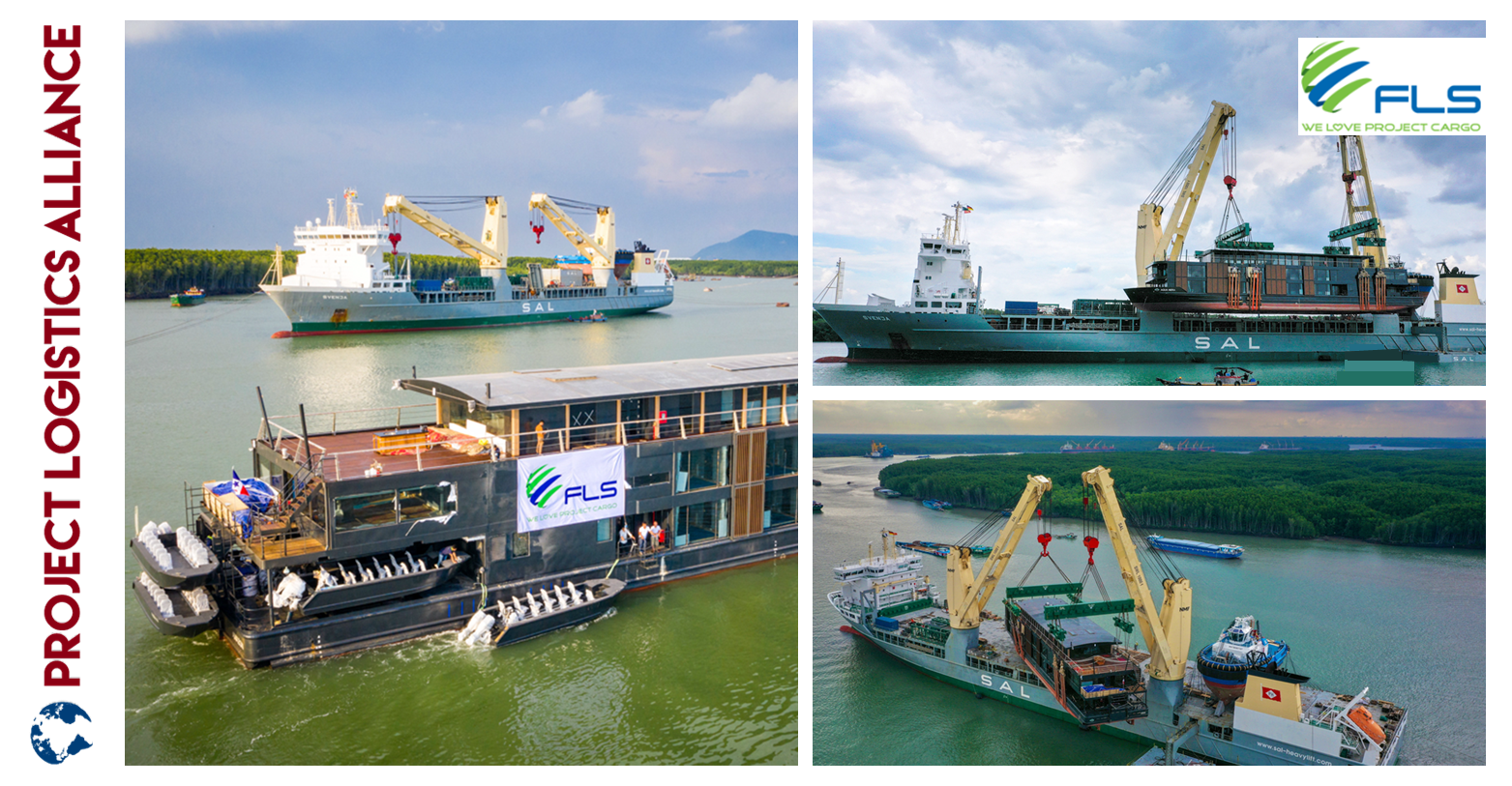 FLS Project And SAL Heavy Lift Are Moving 800 Tons Of Luxury To From Asia To South America