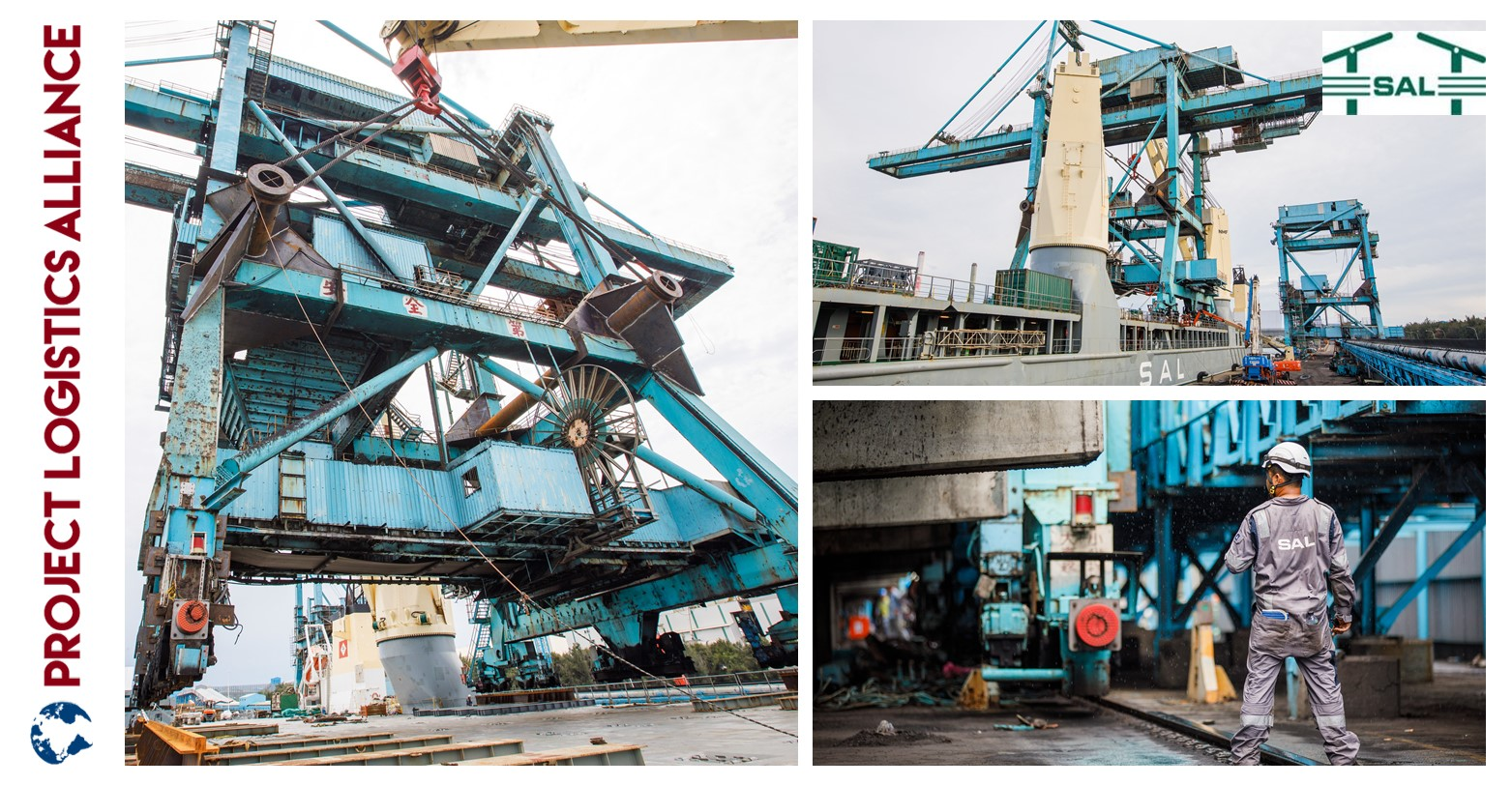 When Skills Matter: SAL Heavy Lift Loads And Discharges Ship Unloaders In Taiwan