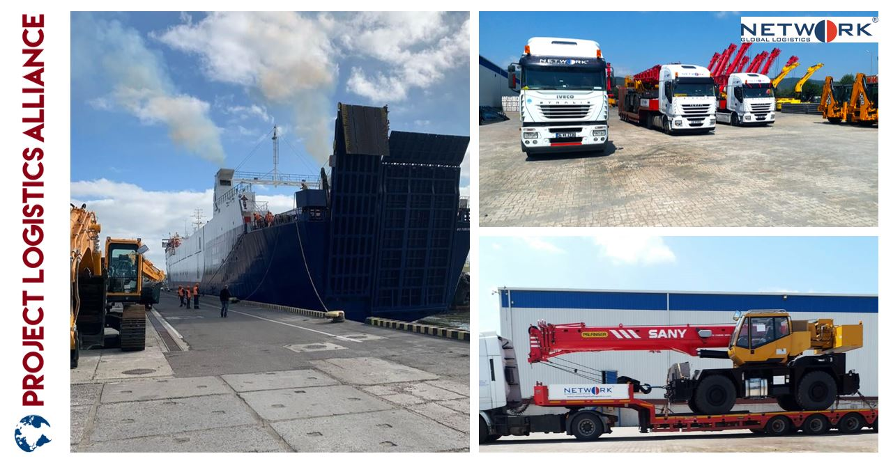 Network Global Logistics Delivers Cranes From Derince to Dar es Salaam
