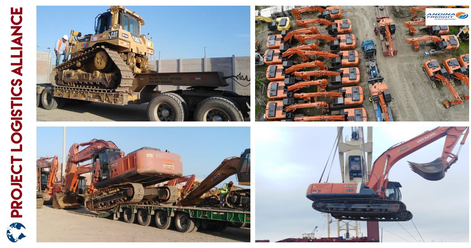 Andina Freight Completes Full Charter Job from Inland Peru to Italy and Ukraine.