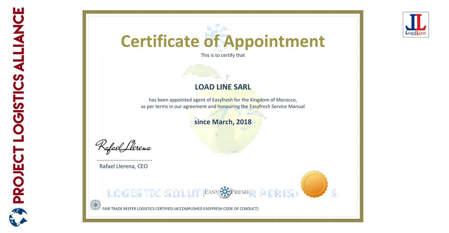 LoadLine is expert in reefer and cold-chain shipments