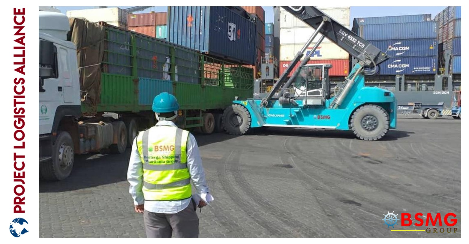 BSMG Group Completes The Fastest Off Loading Operations At Port Of Nouakchott
