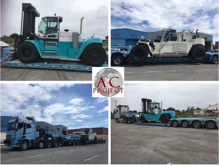 AC PROJECT & FORWARDING Delivers Machinery From Amsterdam to Spain