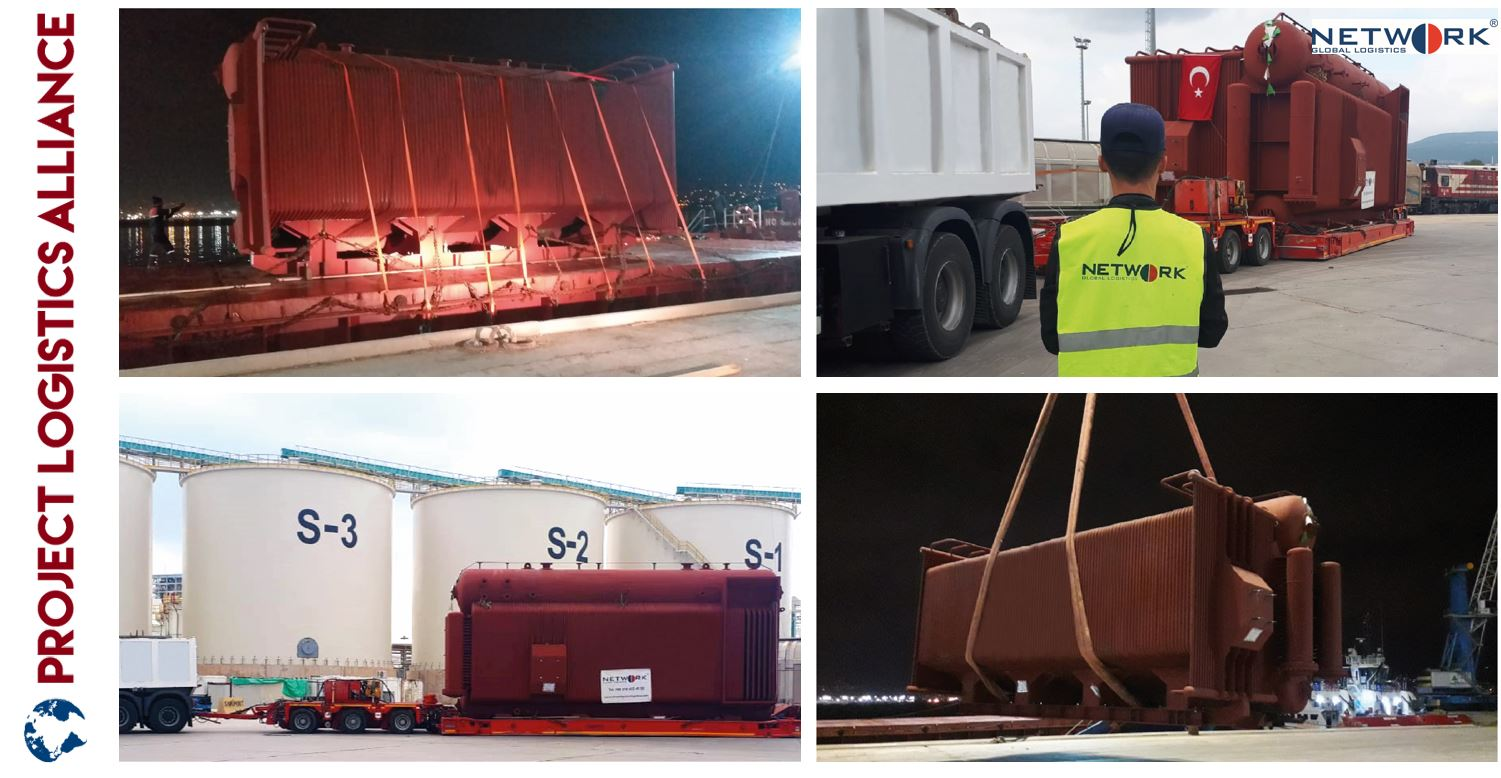 Network Global Logistics Delivers Boiler To Tunisia