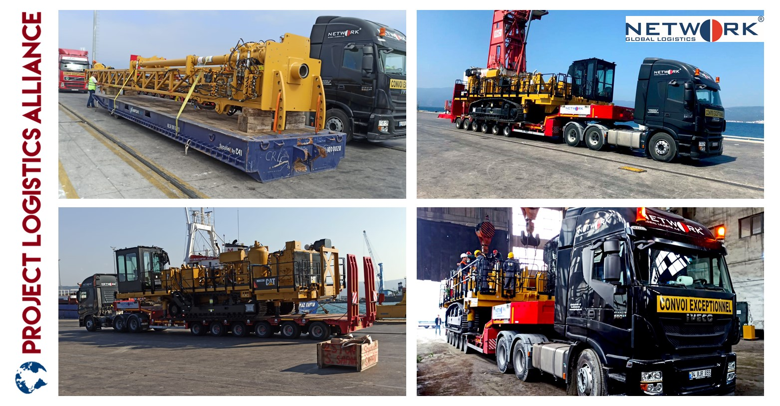 Network Global Logistics Delivers Caterpillar MD6250 From The USA To Bulgaria