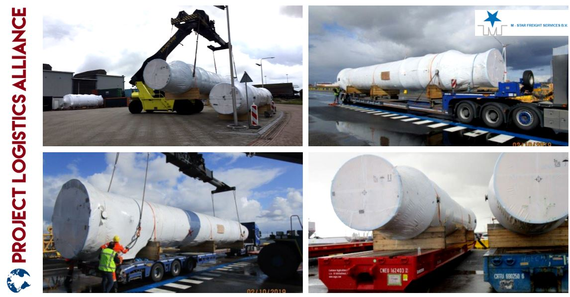 M-Star Projects Delivers Exhaust Gas Silencers to Oman