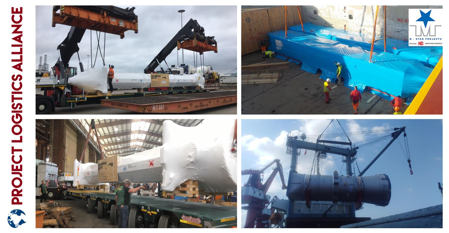 M-Star Projects Ships Equipment From All Over To Thailand For A Large EPC Contractor