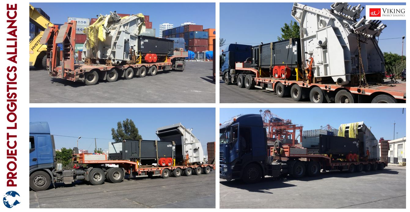 Viking Project Logistics Delivers Machinery from India to Turkey