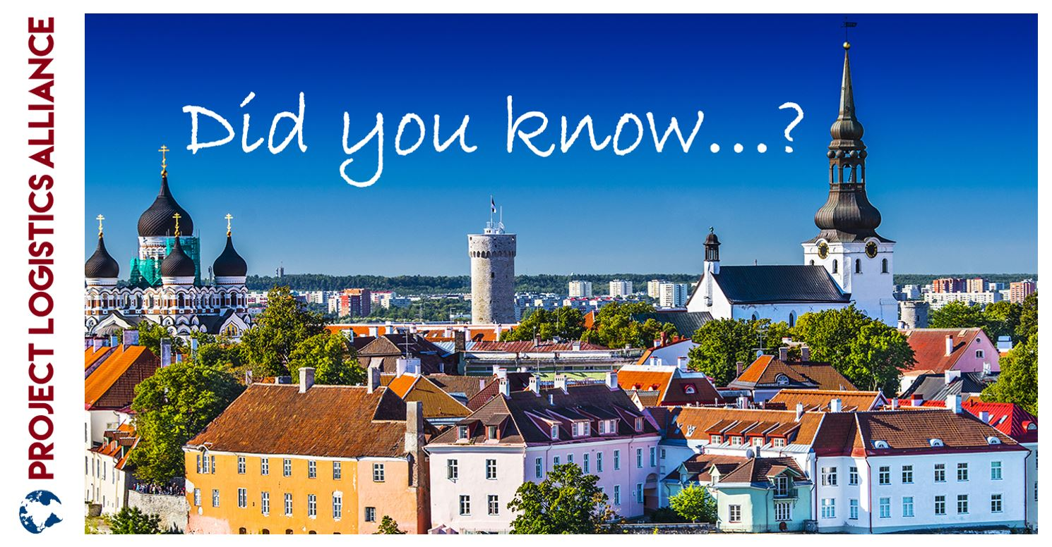 #10 Did You Know Only Three Cities In Estonia Exceed The Number Of 50.000 Inhabitants?