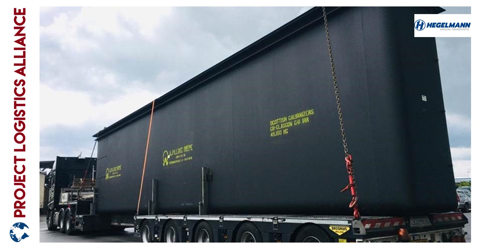Hegelmann Special Transport Ensures A Timely Delivery To Scotland