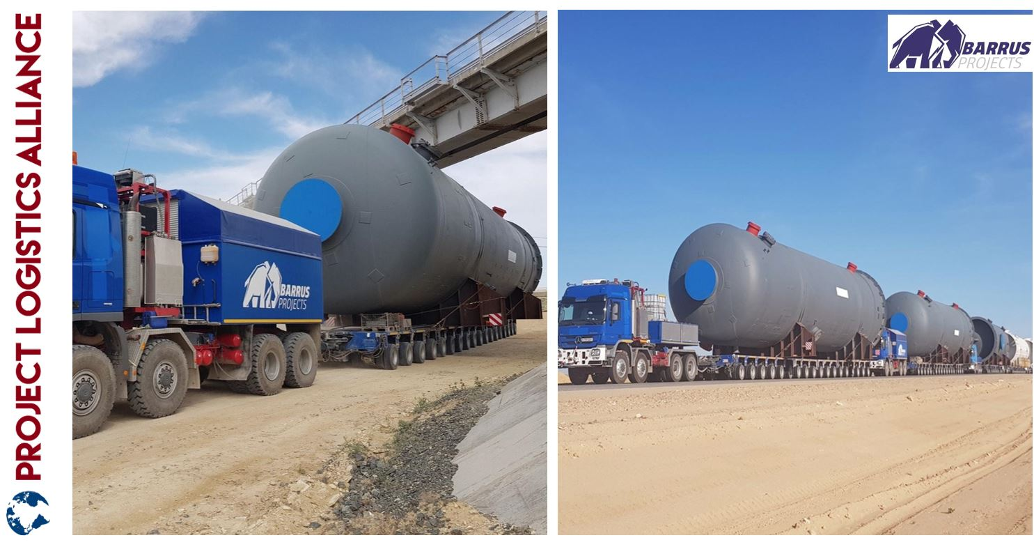 Barrus Projects Continues Delivery for OLTIN YO'L GTL Energy Plant