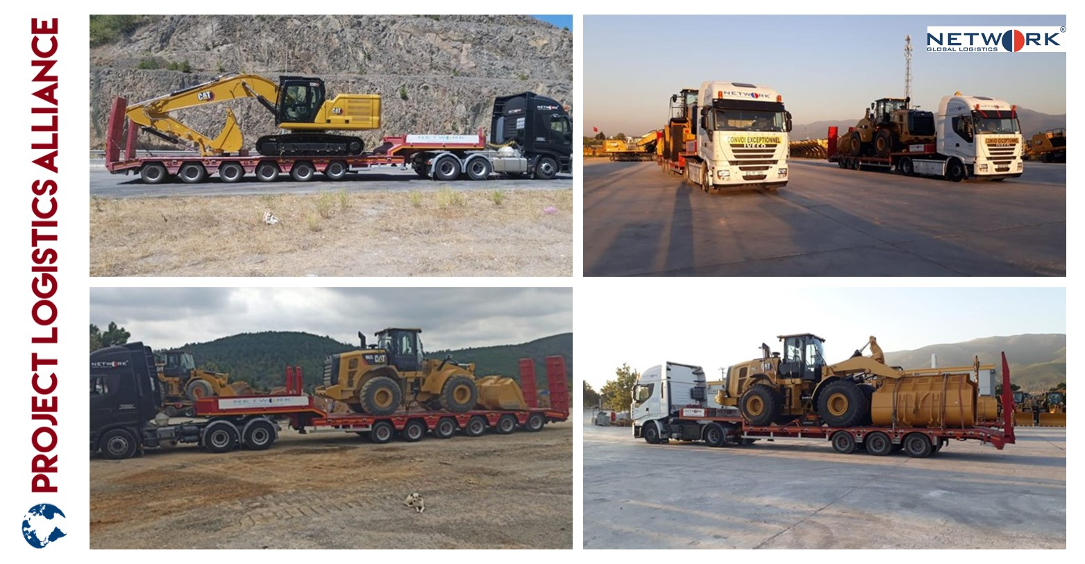 Network Global Logistics Transports Construction Equipment To Bulgaria