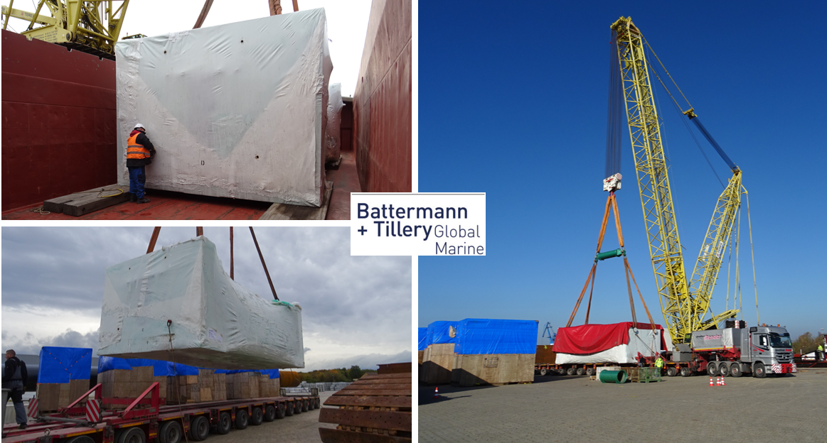 Battermann & Tillery Attends to Safe Loading of a Complex Project Shipment