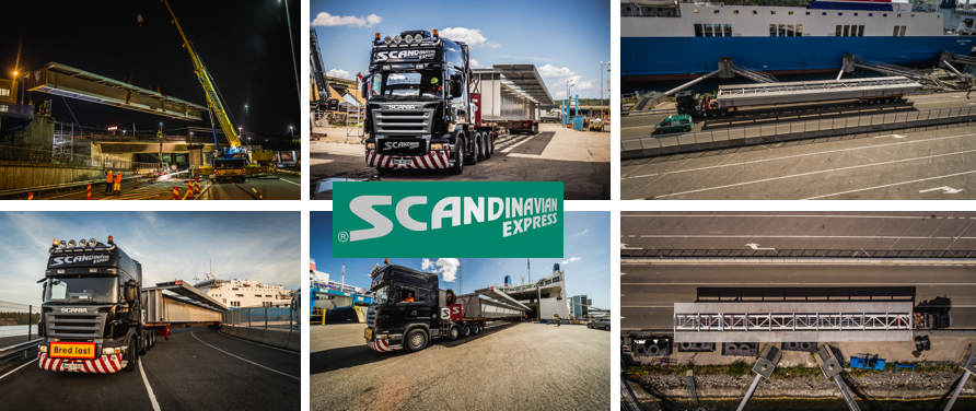 Scandinavian Express completed bridge project for Scandinavia