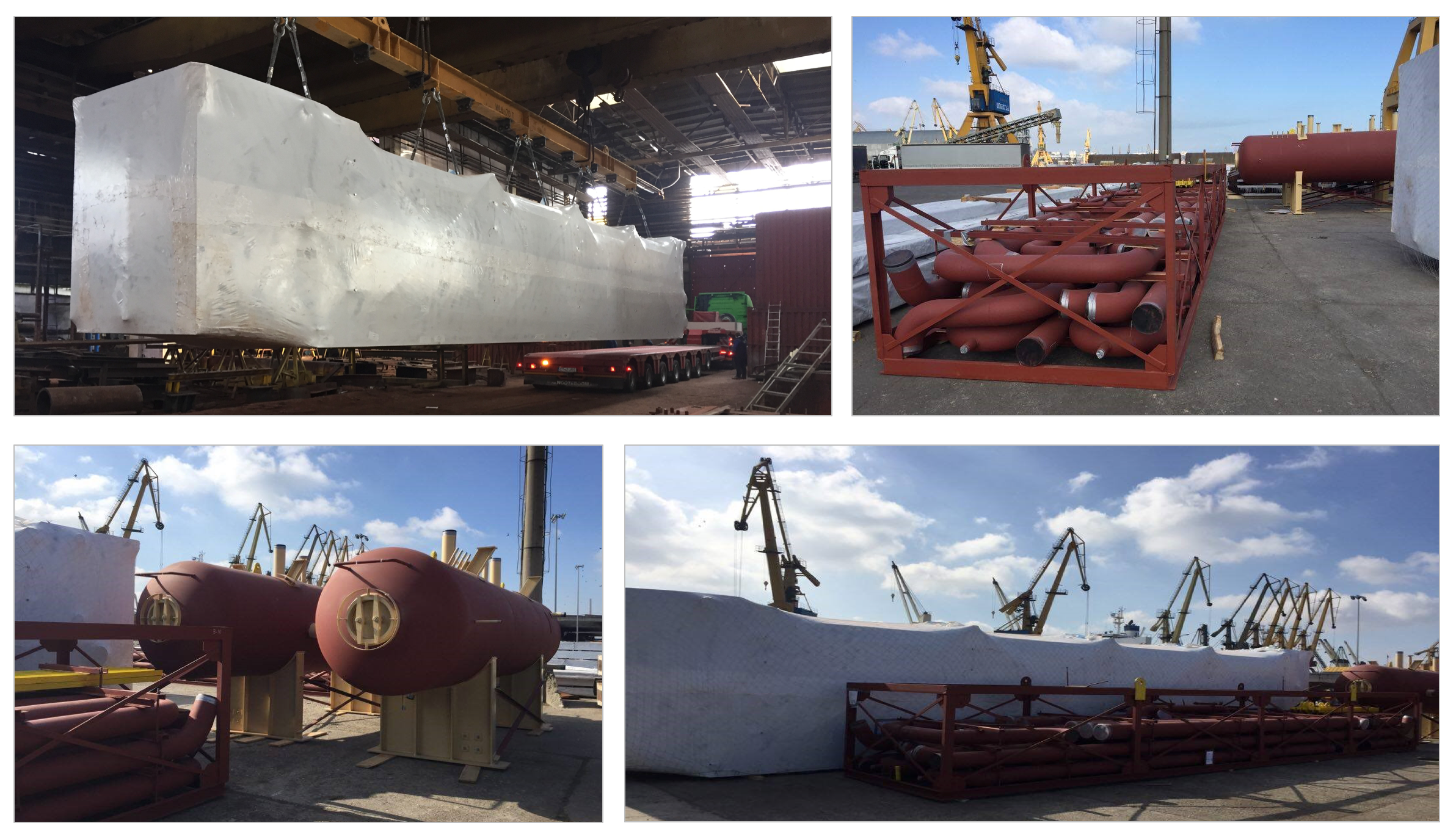Steder Group Transports 22 Heavy Pieces