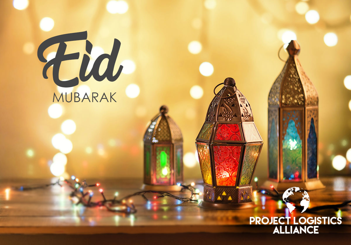 Happy Eid From The Project Logistics Alliance